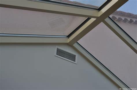 veranda toit plat avec dome en verre cannes 06 antibes