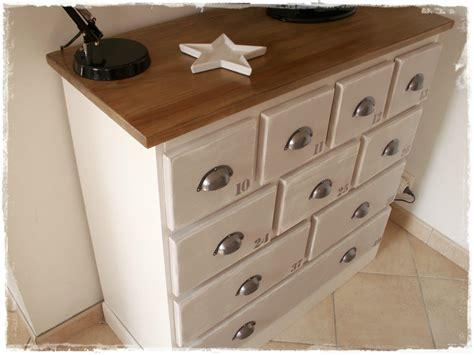 customiser des meubles de cuisine meuble de mercerie patiné broc et patine le grenier de