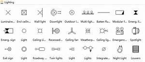 Floor Electrical Plan Symbols Lights  Best Reflected