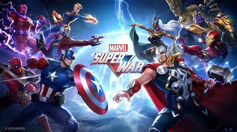 marvel super war  netease  marvel games opens
