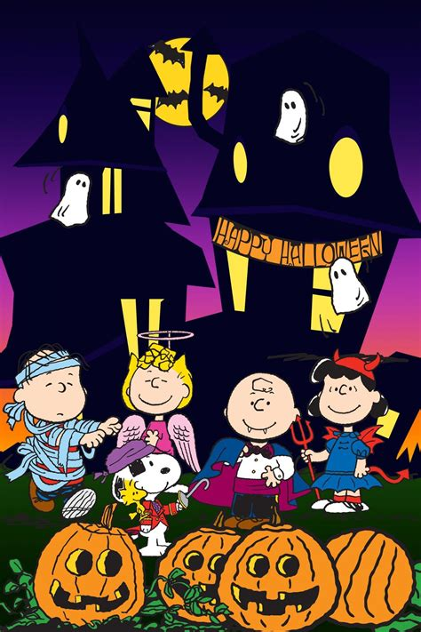 peanuts halloween snoopy halloween charlie brown