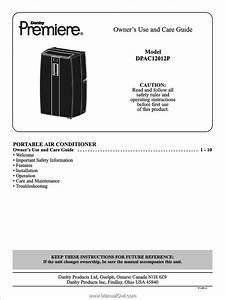 Bestseller  Danby Air Conditioner Manual Dpac12012p