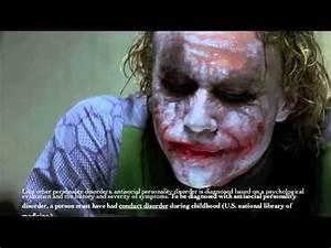 anti social personality disorder - YouTube