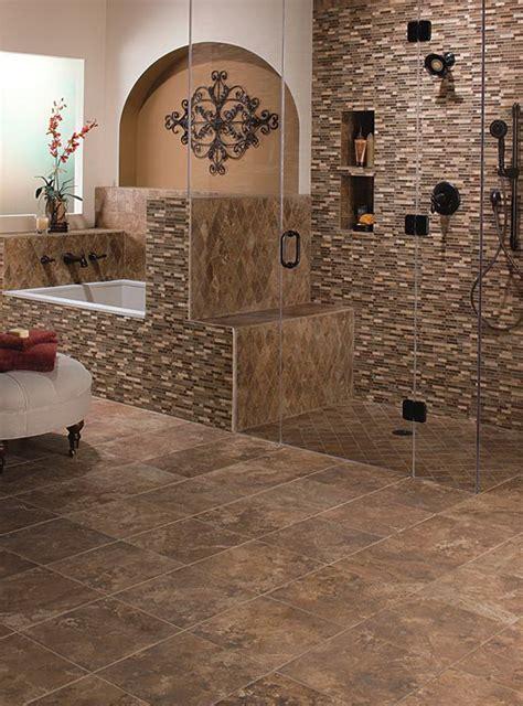 Lowes Bathroom Floor Tiles  Brilliant Brown Lowes