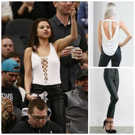 Get Selena Gomezu0026#39;s Sexy Basketball Game Outfit! u2013 The ...