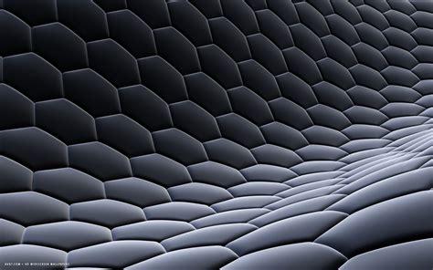 Grey 3d Wallpaper by 3d Hexagon Texture Fabric Steel Gray Grid Honeycomb Hd