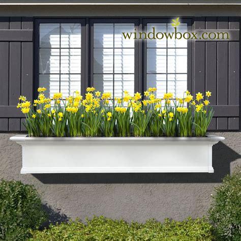 Window Planters by Provincial Window Kit White Self Watering Window