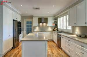 building an island in your kitchen galley style kitchen by planit kitchens 11 gallery