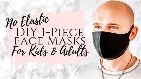 minute diy neoprene facemask     face mask