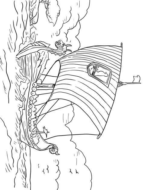 viking coloring pages  printable viking coloring pages