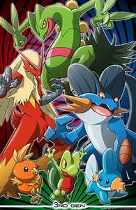 Pokemon 3rd Generation By Nicolette Ray Pokemon
