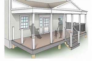 Porch design plans inteplast building products for Porch designs and plans