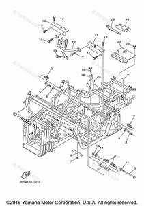 Yamaha Side By Side 2009 Oem Parts Diagram For Frame