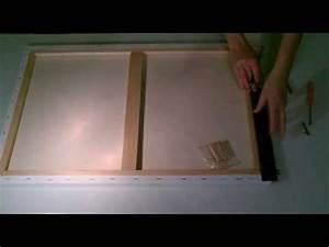 Accroche Cadre Sans Trou : comment fixer une accroche sur un tableau youtube ~ Premium-room.com Idées de Décoration
