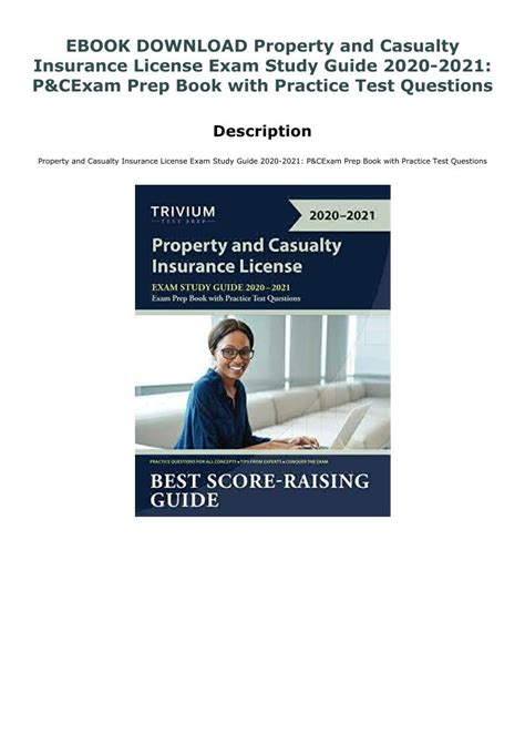 Property & casualty insurance licensing course. EBOOK DOWNLOAD Property and Casualty Insurance License Exam Study Guide 2020-2021: P&C Exam Prep ...