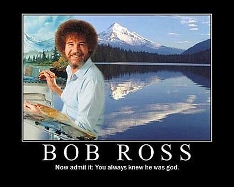 Very First Bob Ross Painting Episode