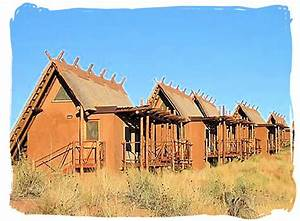 The Xaus Lodge in the Kgalagadi Transfrontier Park