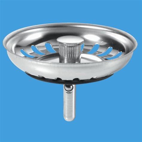 mcalpine stainless steel strainer plug plumbers mate