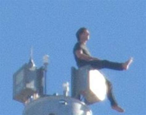 Tom Cruise Sitting On Top Of The Burj Khalifa Real Or