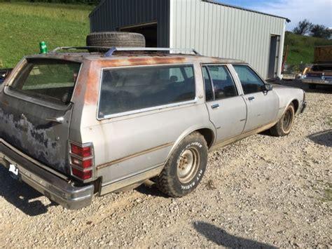 1984 Chevrolet Caprice Classic Station Wagon 305 Runs