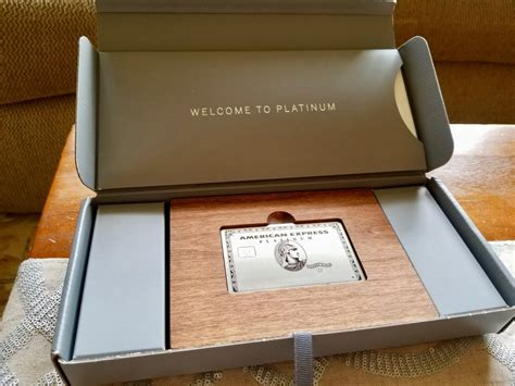 platinum amex welcome box military
