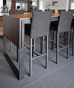 Table Cuisine Haute : table haute cuisine design table de lit ~ Teatrodelosmanantiales.com Idées de Décoration