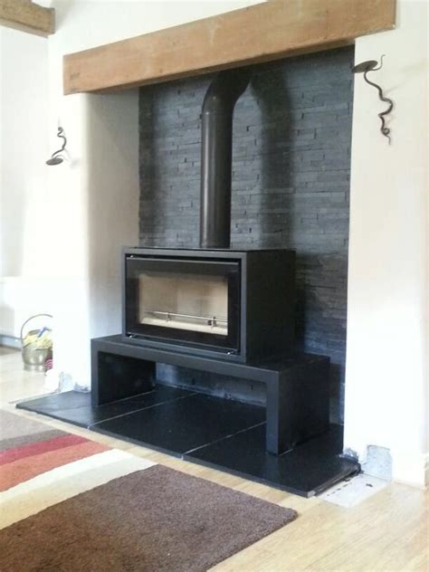 fireplace backing 25 best ideas about slate hearth on log