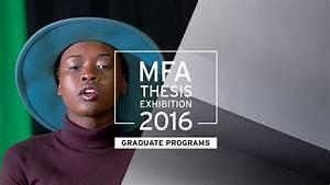 MFA Thesis Show 2016   MassArt
