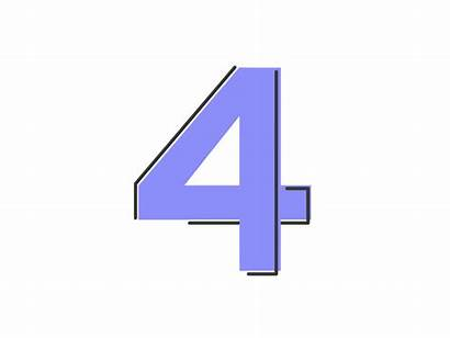 Four Number Dribbble Animated Numbers Connect Nesterov