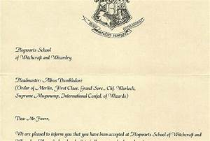 create a personalized hogwarts acceptance letter for you With harry potter hogwarts acceptance letter pdf