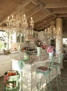 Rustic glam kitchen. | My Style | Pinterest
