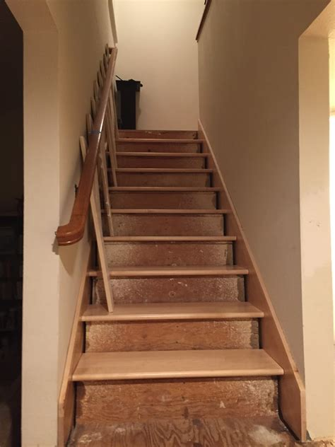 stair tread template stair riser templating when treads are already in home improvement stack exchange