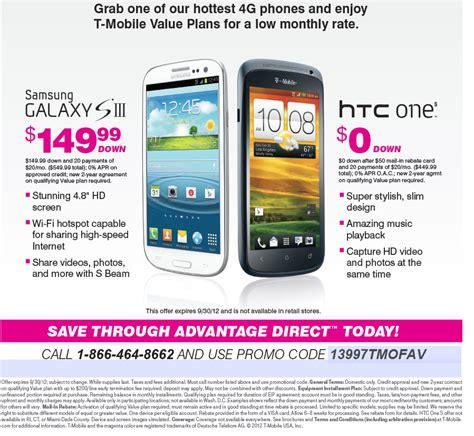 t mobile smartphone plan t mobile offer on value plans