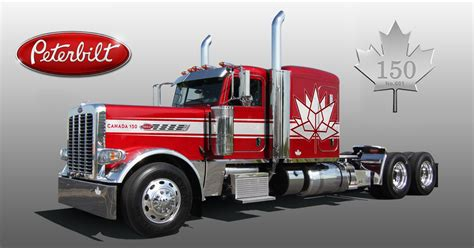 Peterbilt unveils special Canadian anniversary edition of ...