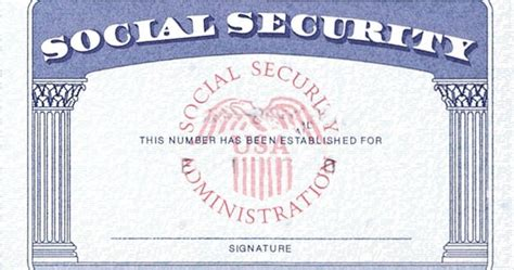 social security number documents checklist