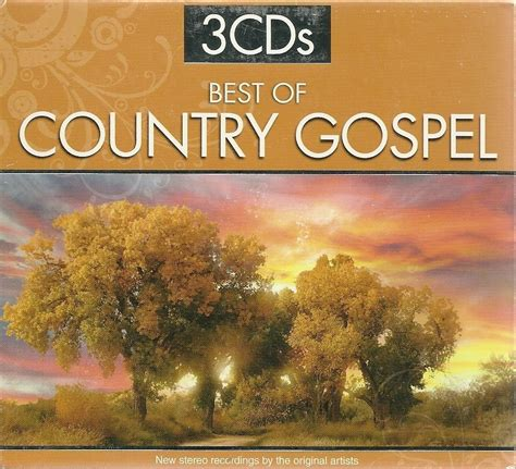 best of country best of country gospel cd various artists 3 disc set cds