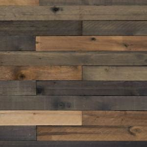 Cork Board Wall Tiles Home Depot by 1 2 In X 4 In X 4 Ft Weathered Hardwood Board 8 Piece