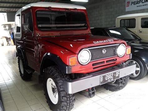 jual mobil daihatsu taft 1982 f50 2 5 di dki jakarta manual jeep merah rp 110 000 000 2714443