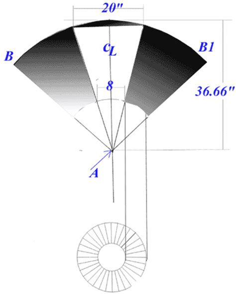 learn how to layout a cone in sheet metal