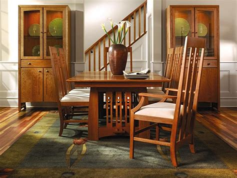 Stickley Dining Room  Craftsman Style Dining Table