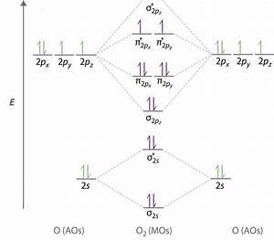 O2 Molecular Orbital Diagrams  U2013 101 Diagrams