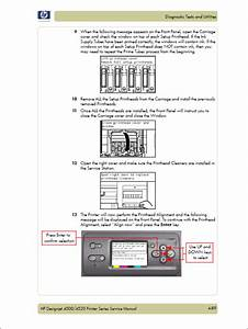 Hp Designjet 4500 4520 Service Manual