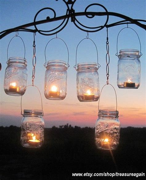 12 hanging garden light diy jar lantern hangers diy