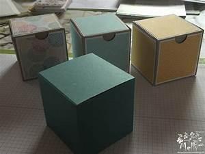 Quadratische Schachtel Falten : anleitung f r w rfelbox schachteln basteln kiste basteln und ~ Eleganceandgraceweddings.com Haus und Dekorationen