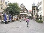 Bad Kissingen, Germany. Wienerwald Restaurant on the left ...