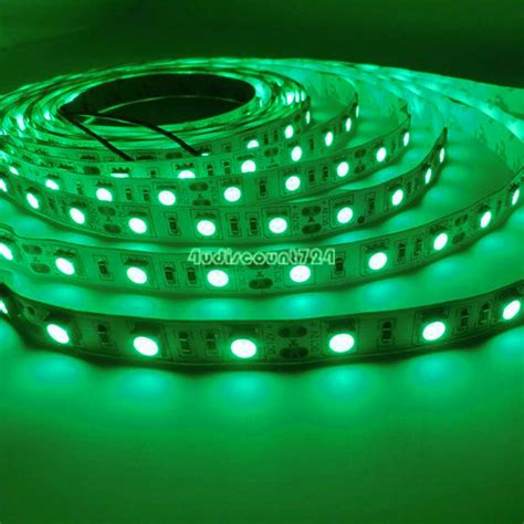 Waterproof 5050 5630 Led Strip Lights 1m 5m Roll 12v Rgb