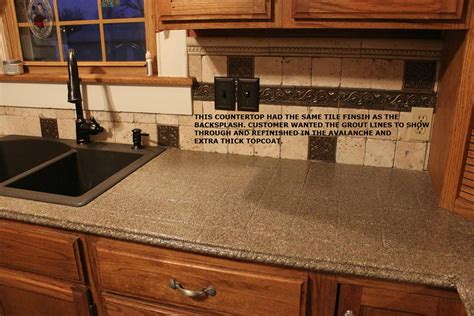 refinishing a countertop kitchen countertop refinishing kits armor garage