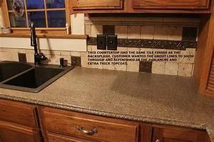 bathroom and kitchen countertop refinishing kits With refinish bathroom countertop