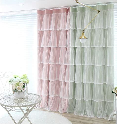 custom made princess korean style shade curtain for