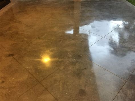 Best Polished Concrete Patio Images On Pinterest
